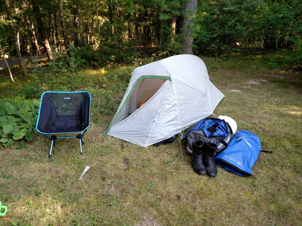 photo of camping spot