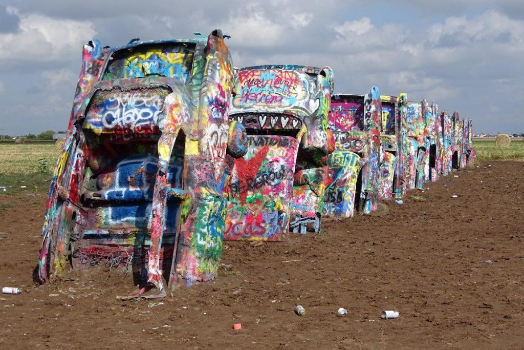 image of Cadillac ranch