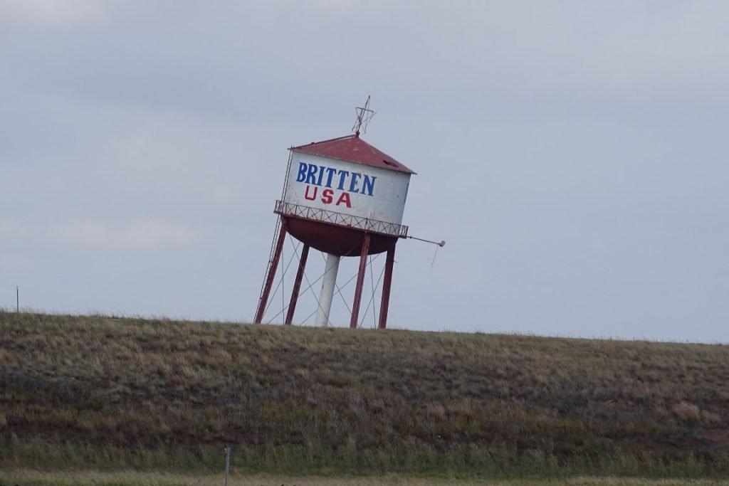 Britten water tank