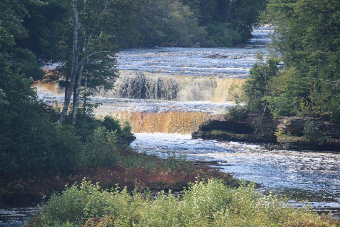 Day 2 – Tahquamenon Falls, Pictured Rocks, Copper Harbor plus Cold Rain