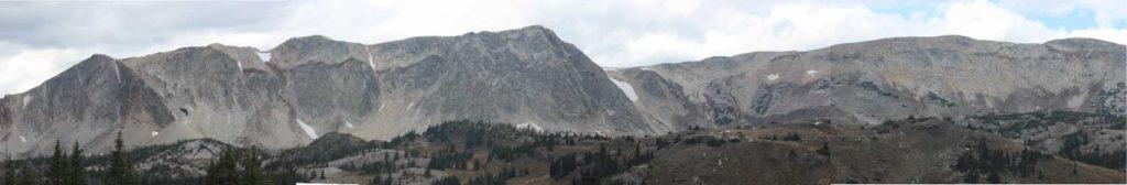 Elk Mountain Panarama