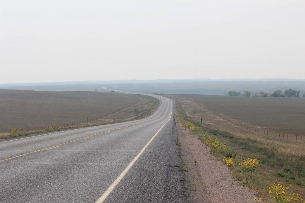 rolling terrain of South Dakota