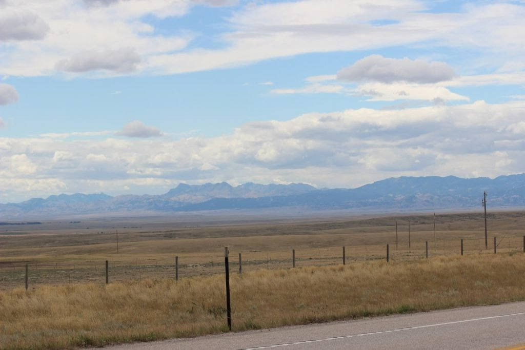 image of  rockies in the distance