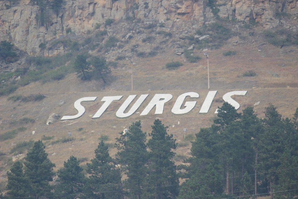 Sturgis SD sign