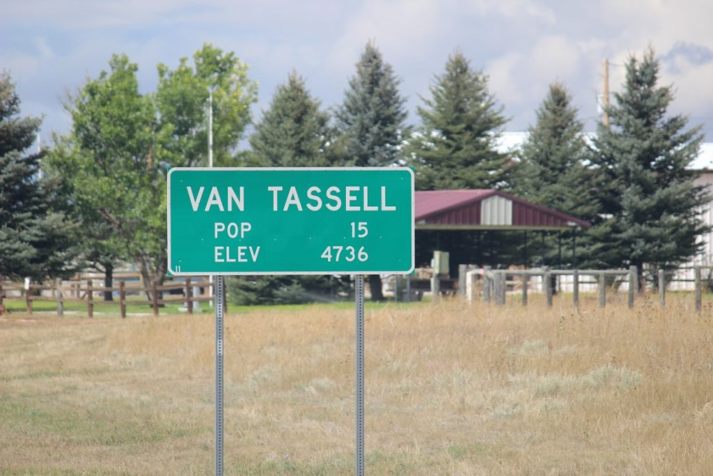 van tassell village sign