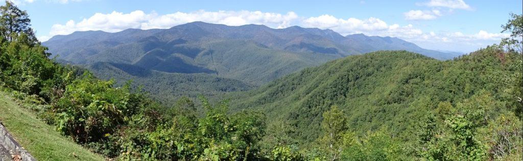 panarama Blue Ridge Parkway Landscape