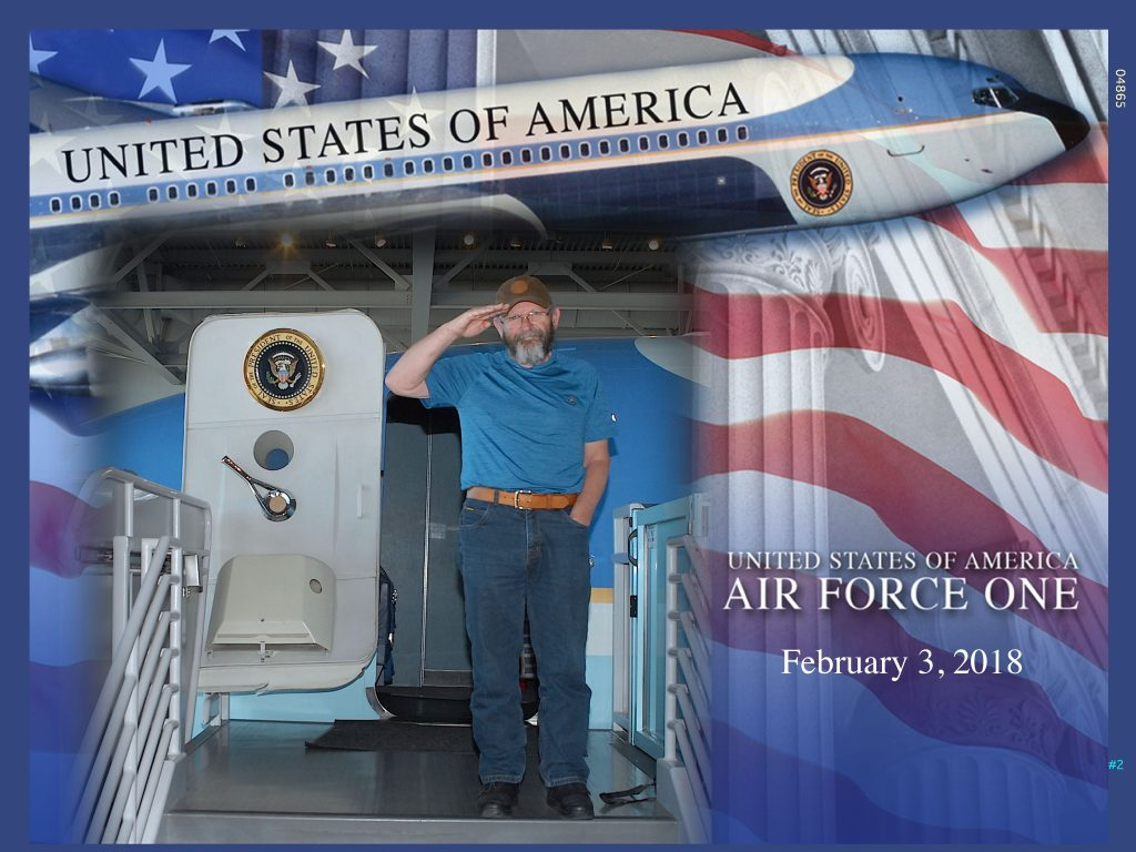 Reagan Library Air Force One