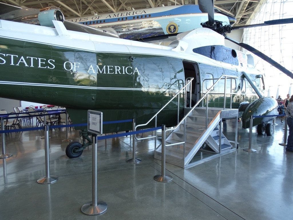 Reagan Library Marine One Helicopter