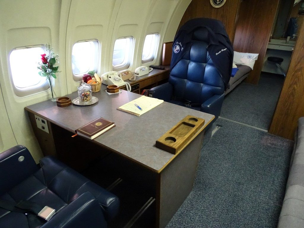 Reagan Library Air Force One Office