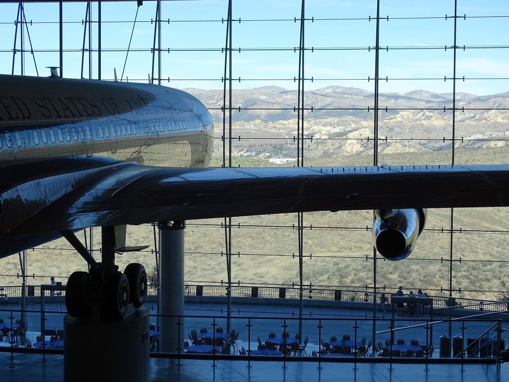 Reagan Library Air force One hanger