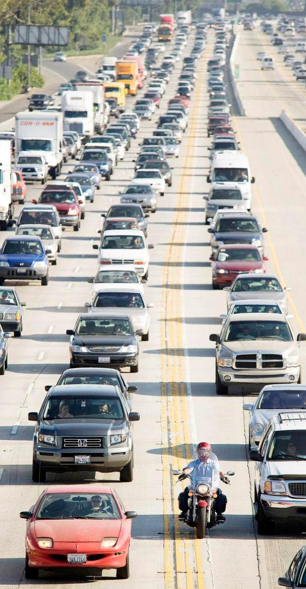 Ronald Reagan and the Joys of Lane Splitting
